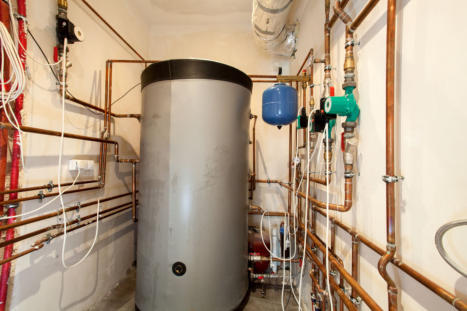 Installation of Hot Water Tank